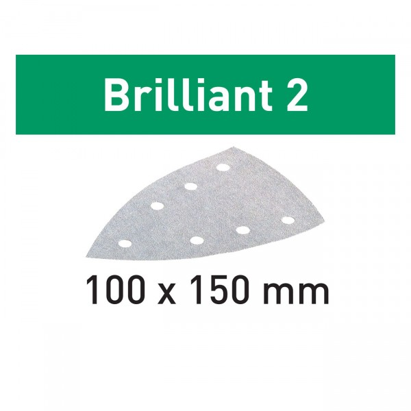 Festool Schleifblätter STF DELTA/7 P60 BR2/10 Brilliant 2