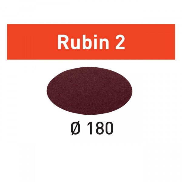 Festool Schleifscheibe STF D180/0 Rubin 2