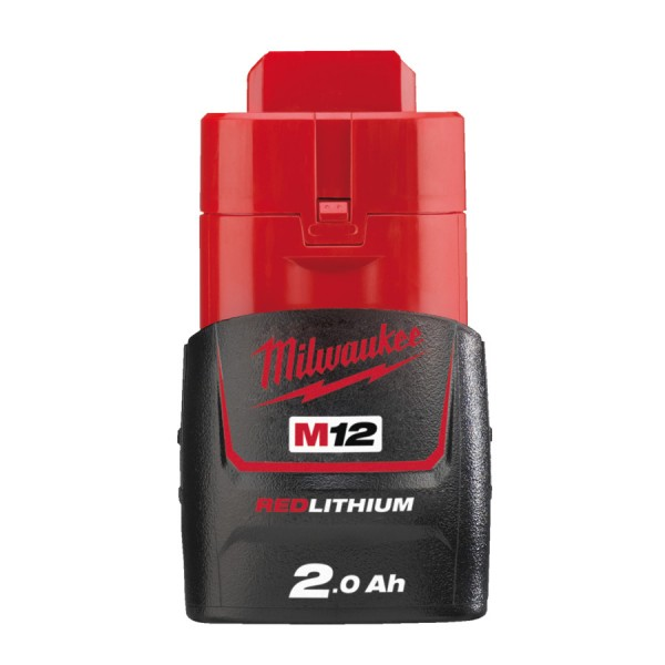 Milwaukee Ersatzakku 12 V Akku M12 B2 2.0 Ah Red Li-Ion