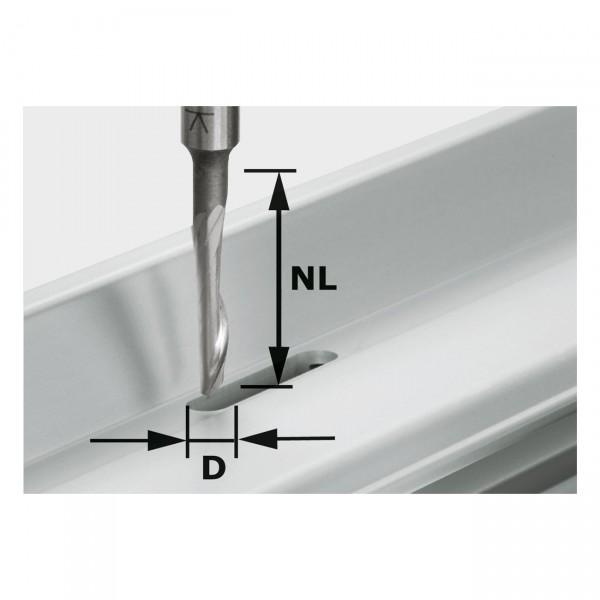 Festool Aluminiumfräser HS S8 D5/NL23