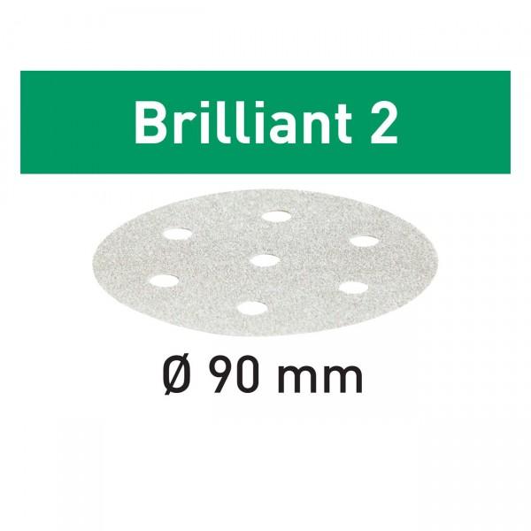 Festool Schleifscheiben STF D90/6 Brilliant 2