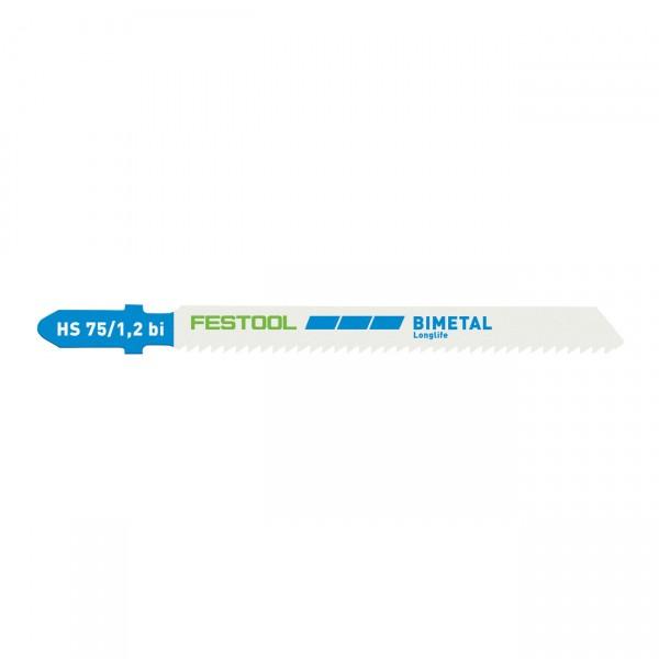 Festool Stichsägeblatt HS 75/1,2 BI/5