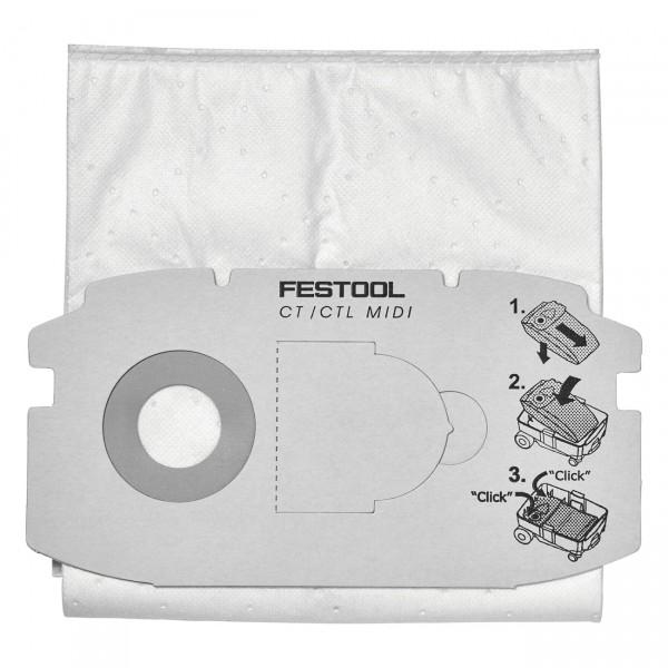 Festool SELFCLEAN Filtersack SC FIS-CT MIDI/5