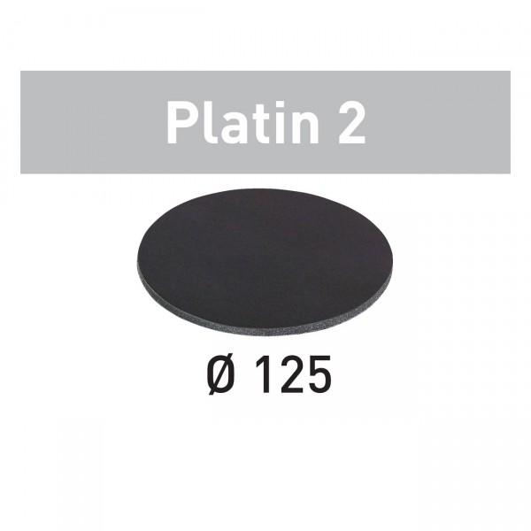 Festool Schleifscheibe STF D125/0 Platin 2