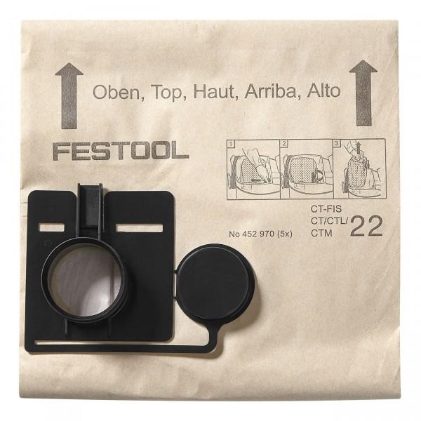 Festool Filtersack FIS-CT 55/5