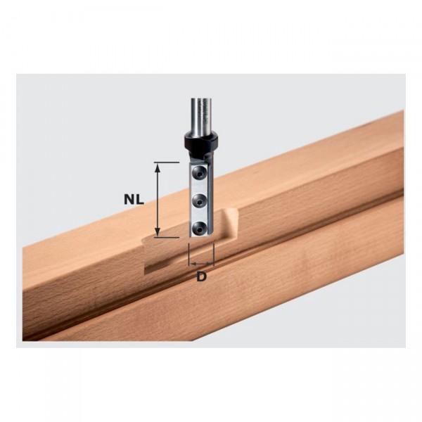 Festool Nutfräser-Wendeplatten HW S12 D16/50 WP