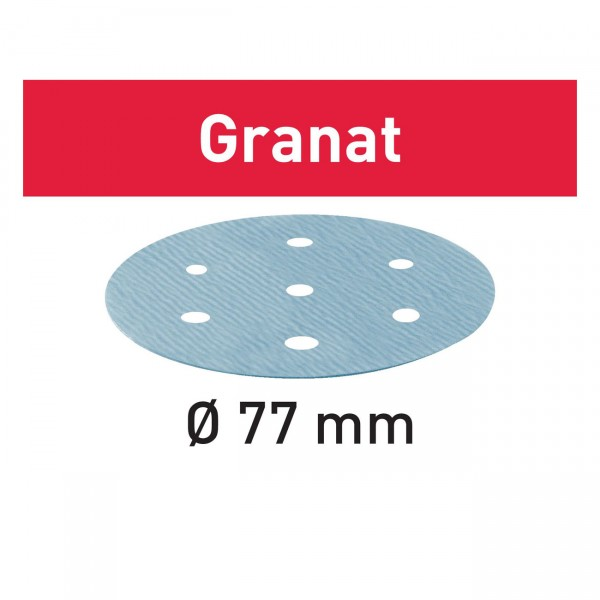 Festool Schleifscheibe STF D 77/6 Granat