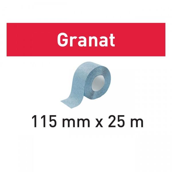 Festool Schleifrolle 115x25m Granat