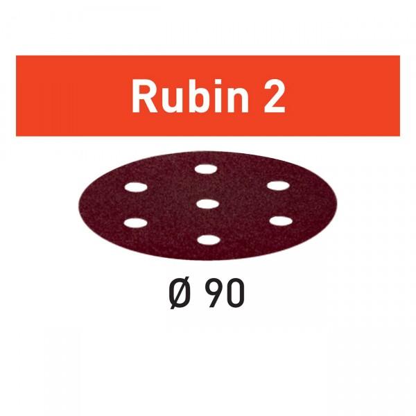 Festool Schleifscheibe STF D90/6 Rubin 2