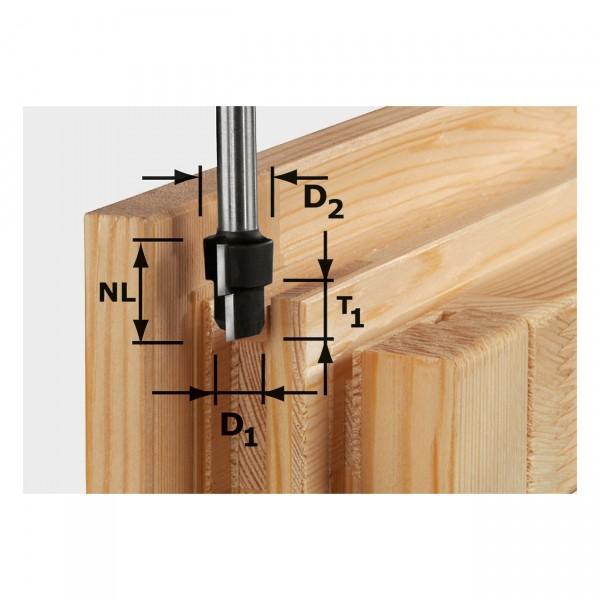 Festool Stufenfräser HW D20,3/12,3/9,3 S12