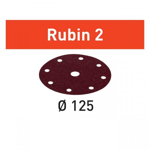 Festool Schleifscheibe STF D125/8 Rubin 2