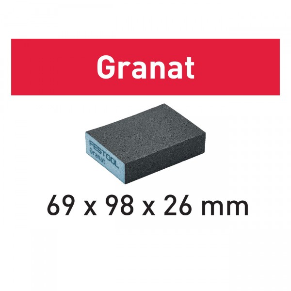 Festool Schleifblock 69x98x26 K 36 Granat