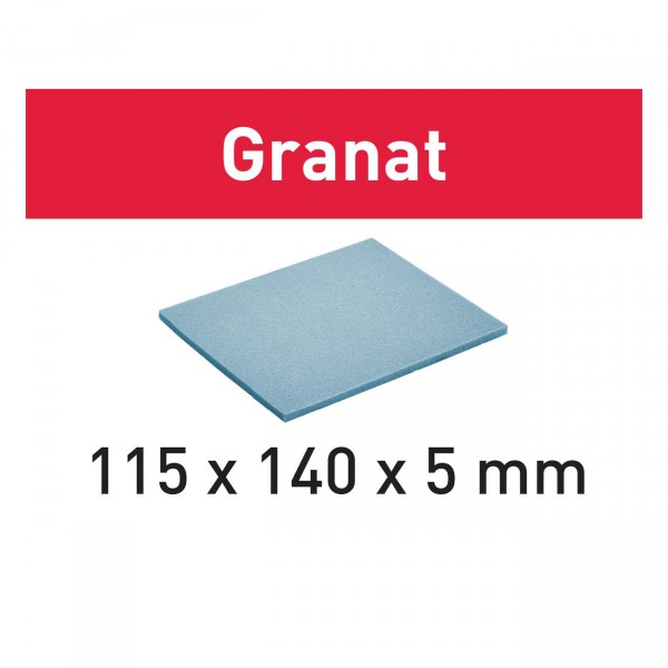 Festool Schleifpad 115x140x5 MF 1500 GR/20 Granat